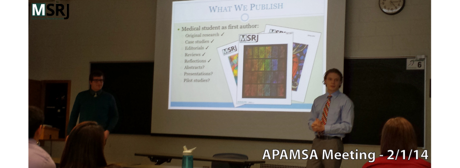 MSRJ Outreach – APAMSA